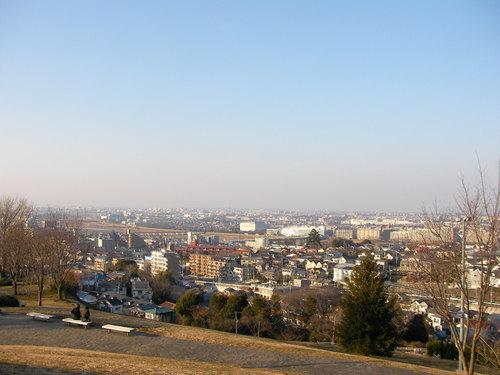 ゆうひの丘からの風景